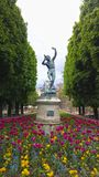 Jardin du Люксембург, Франция Стоковое Изображение