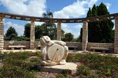 Jardin du bienfaiteur dans Zichron Yaakov Photos libres de droits