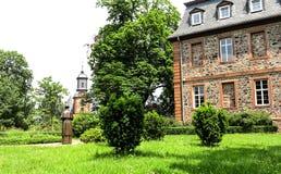 Jardin du château (1722 -1752) dans Langenselbold près de Hanau, Allemagne Photo libre de droits