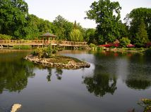 Jardin du Japon Image libre de droits