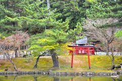 Jardin du Japon Photos stock
