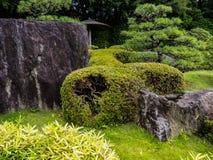 Jardin du Japon de tradition, jardin de zen photos libres de droits