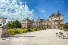 Jardin du Lussemburgo a Parigi Fotografie Stock