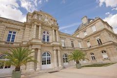 Jardin du Lussemburgo, senato francese Fotografia Stock