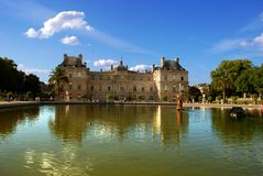 Jardin du Luxembourg Royalty Free Stock Images