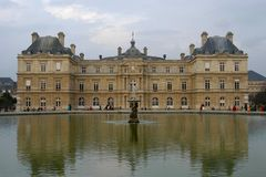 Jardin du Luxembourg Royalty Free Stock Photo