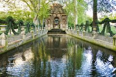 Jardin du Luxembourg, Paris, France. The Jardin du Luxembourg, also known in English as the Luxembourg Gardens stock photos