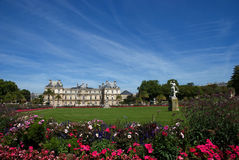 Jardin du Luxembourg. Famous park in Paris during the summer stock images