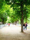 Jardin du Luxembourg (parc) Images libres de droits