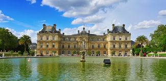 Jardin du Luxembourg in Paris, France Royalty Free Stock Images