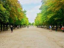 Jardin du Luxembourg (Park). In Paris stock image