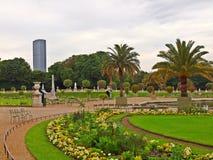 Jardin du Luxemburg. Parijs. stock foto