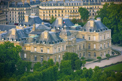 Jardin DU Luxemburg, Paris Lizenzfreies Stockfoto