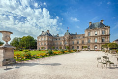 Jardin du Luxemburgo en París Fotos de archivo