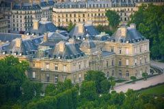 Jardin du Luxemburgo, París Foto de archivo libre de regalías