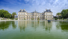 Jardin du Luxemburgo, París Imagen de archivo libre de regalías