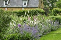 Jardin du Manoir d'Eyrignac 库存图片