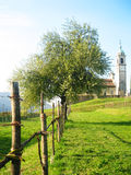 Jardin en Suisse. Photos stock