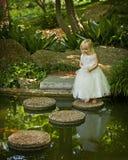 jardin enchanté Photo stock