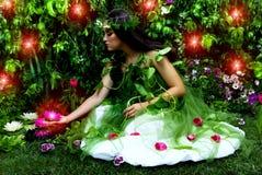 jardin enchanté Image libre de droits