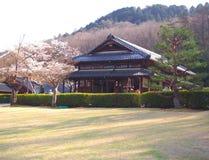 Jardin et restaurant à Meiji-Mura Japon Images libres de droits