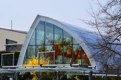 Jardin et verre de Chihuly Images libres de droits
