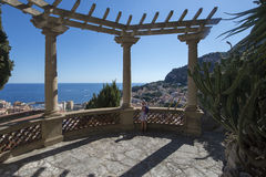 Jardin Exotique de Monaco Royalty Free Stock Photography
