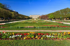 Jardin flowers museum Royalty Free Stock Images