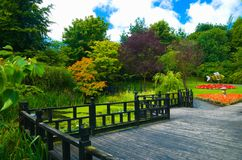 jardin formel Images libres de droits