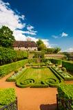 Jardin formel au printemps, l'Allemagne Photos stock