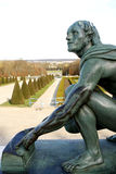 Jardin formel français Images libres de droits