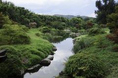 Jardin France Languedoc-Roussillon de Bambouseraie photo libre de droits