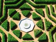 Jardin géométrique Photos libres de droits