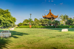 Jardin gentil photo stock