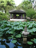 Jardin humble du ` s d'administrateur, Suzhou, Chine Photo stock