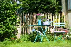 Jardin idyllique Photographie stock
