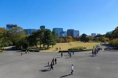 Jardin impérial de palais Photos stock