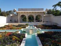 Jardin indien de Bagh de char en Hamilton Gardens Hamilton, Nouvelle-Zélande images stock