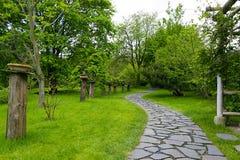 Jardin japonais à Prague Photos stock