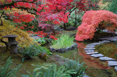 Jardin japonais Photo stock