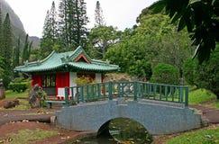 Construction Japonaise Dans Maui Photographie Stock Libre De Droits Image 28290147