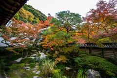 Jardin japonais. Image libre de droits
