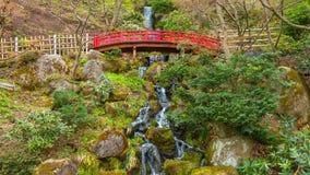 Jardin japonais commémoratif de Fujita dans Hirosaki, Japon photographie stock libre de droits