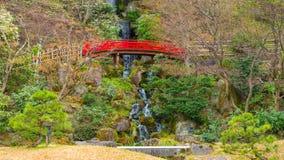 Jardin japonais commémoratif de Fujita dans Hirosaki, Japon photos libres de droits