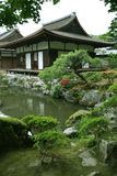Jardin japonais d'horizontal Photo stock