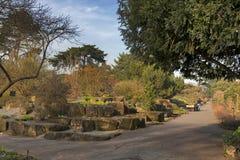 Jardin japonais dans les jardins botaniques royaux chez Kew Images stock