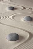 Jardin japonais de méditation de zen photographie stock libre de droits
