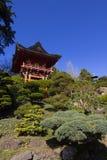 Jardin japonais de pagoda Image libre de droits