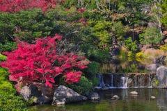 Jardin japonais de parc comm?moratif de l'expo ?70 image libre de droits