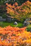 Jardin japonais de parc comm?moratif de l'expo ?70 images stock